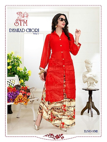 🏃♂🏃♂Sale sell sale sell sale sell🏃♂🏃♂🏃♂  🤷♂Original branded  dhakad chori vol - 1                🤷♂Material....  👉TOP - heavy jorjet ( stich 42 )  👉Inner - american ( length 42 )  👉scurt - heavey bhagalpuri ( stich 42 - Length  42 )  👉Colour -  4 colours         *😍😍Rate - 750 + $*