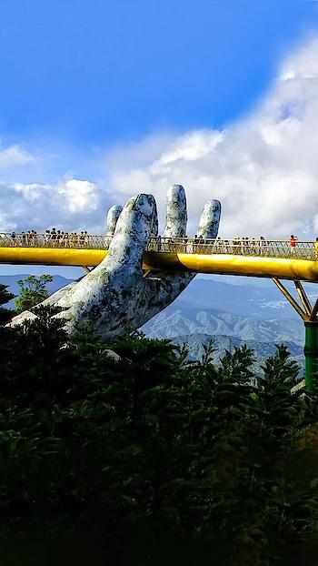 #vietnam .......#golden bridge