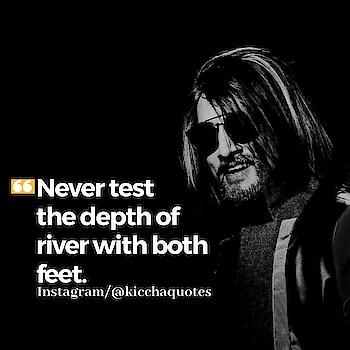 #soulfulquotes #kichhasudeep