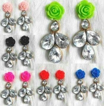 Buy any of them   just 95₹  #earringswag #earringsoftheday #earrrings #earing #colorfullife #jewellery #bridaljewellery #bridaljewelleryset