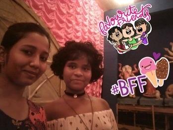 me and my best friend😘😘❤❤ #favouritefriends, #bff #favouritefriends