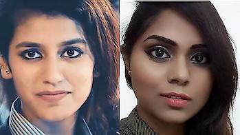 hey guys check out this makeup look inspired by priya Prakash #makeupblog #nomakeuplook #manegirls #blogger #fashionfables #fashionblogindia #beautybloggerindia