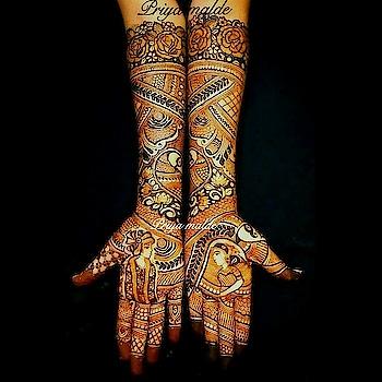 Here's to the Groom with the Bride so fair, And Here's to the Bride with the Groom so rare✨✨ For bridal mehendi bookings and classes contact on 9766110053 #Mehendi2017 #Trendy #instagood #instagram #beautiful #art #exclusivebeautytradition #BridalmehendiArtist #bridalworld #weddingseasoncomingsoon #Indianwedding #Indianculture #wedmegood #weddingsutra #theweddingchamber #weddingforward #mehendilooks #mehendilove❤