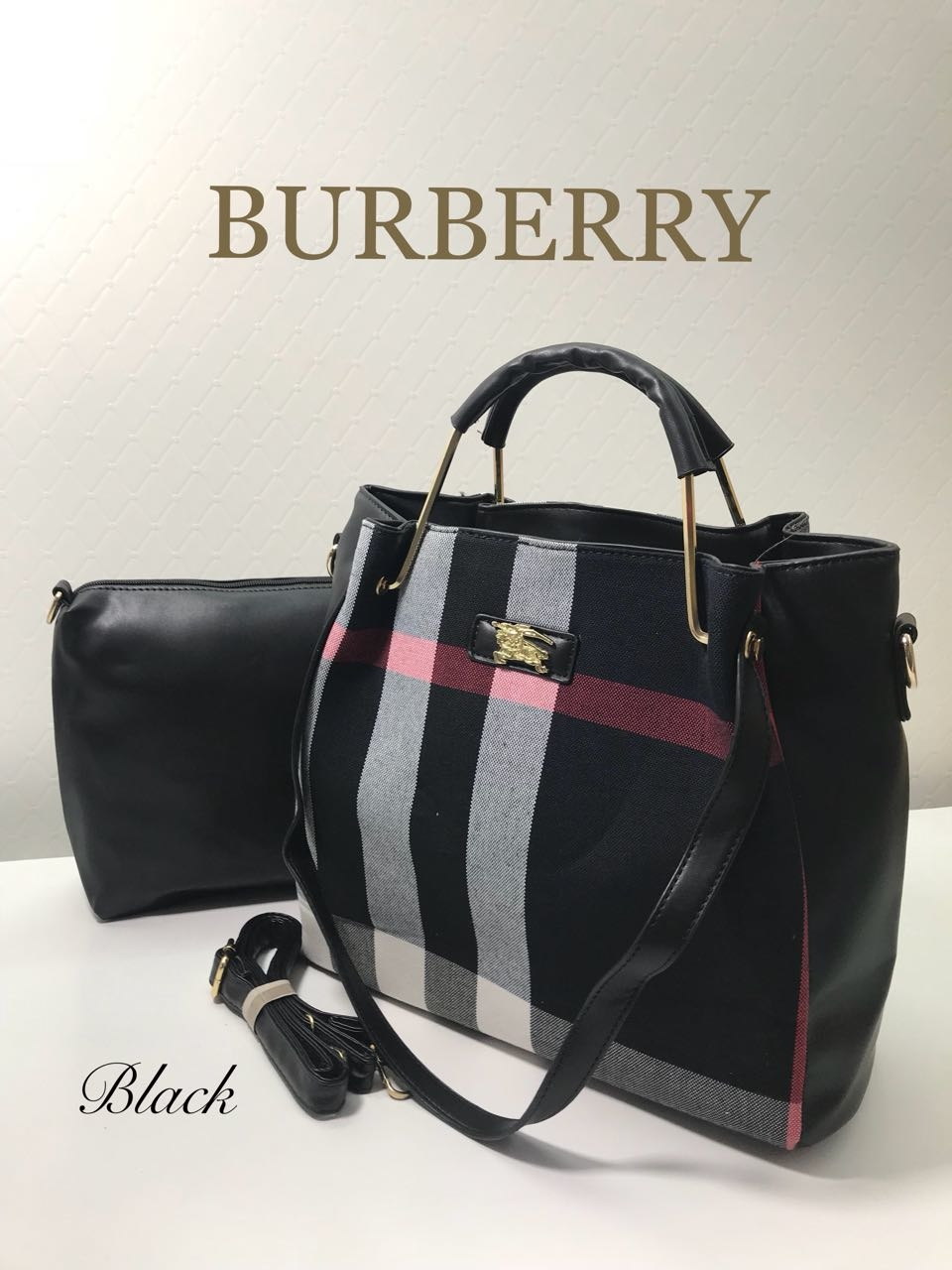 *🐎BURBERRY🐎* 2 piece combo set😍 IMPORTED Classy carry sober wear *❣Price 1099 +$ only❣*