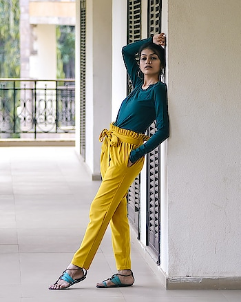 Be trendy and feel comfortable in this vibrant colour pants from @smartypants  🔥 Captured : @ajayyparmar  Location- @discover_resorts  Also checkout my blog for @discover_resorts ,link in bio and story! . #thehetalgada #smartypants #discoverresort #casualoutfit #yellowpants #streetstyle #summervibes #summercolours #summeroutfit #roposo #roposo-style #roposogal #ropo-love #ropo-good #ropo-style
