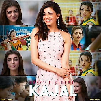 #kajalaggarwal  #birthdaybash