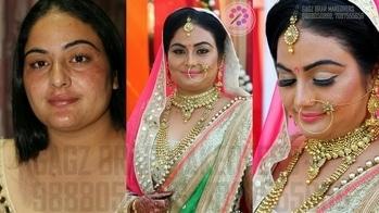 #bridal #makeover #cutcrease #eyes #contouring #highlighting #blush #Mac #manual #makeup #sephora #naked #inglot #neon #lipstick #golden #work #destination #makeupartist #hairstylist #GagzBrar #gagzbrarmakeovers 7087555656, 9888050866 #Bride - Rajwinder Kaur  #mua💄 - Gagz Brar