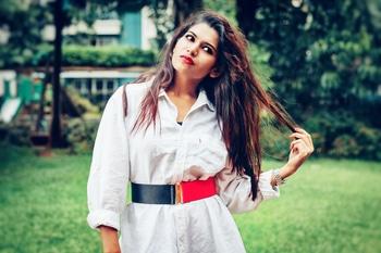 Messy hair don't care.  #roposo #roposogal #roposolive #roposome #indianblogger #blogger #indianbloggercommunity #indianbloggersroposo #styleblogger #fashionblogger #fashionblog #fashion #fashionista #fashion #fashionista #indianblogger #styleblogger #puneblogger #punegram #style #ootd #photoshoot #fashionshoot #fashionphotography  #indianfashionblogger  #hairstyle