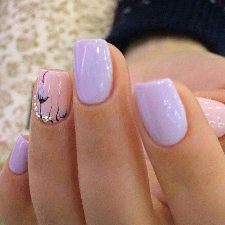 #lavender#nail#paint
