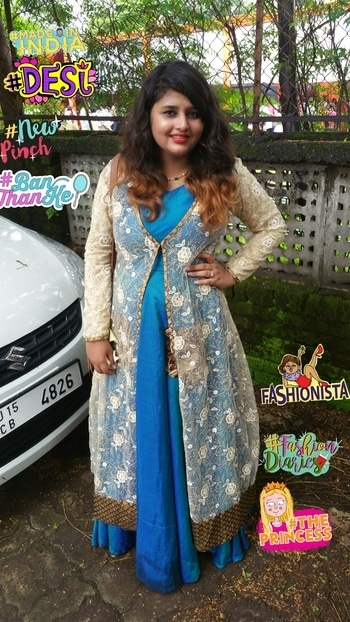 Posting after long time as our festival was going on... So I got this outfit customised from @beyounique... I just fell in love with it instantly ;) :*   #fashion #traditional #bethefashionista #traditionallove #indowestern #beYOUnique #bydimpeepalrecha #bydimpeebhandari #soroposo #soroposolove #soroposoblogger #soroposogirl #soroposofashion #fashionista #fashionblogger #redlips #jacketlove #layering #roposian #roposofashionista #fashioninfluencer #theprincess #madeinindia #desi #fashiondiaries #newpinch #fashionista #banthanke