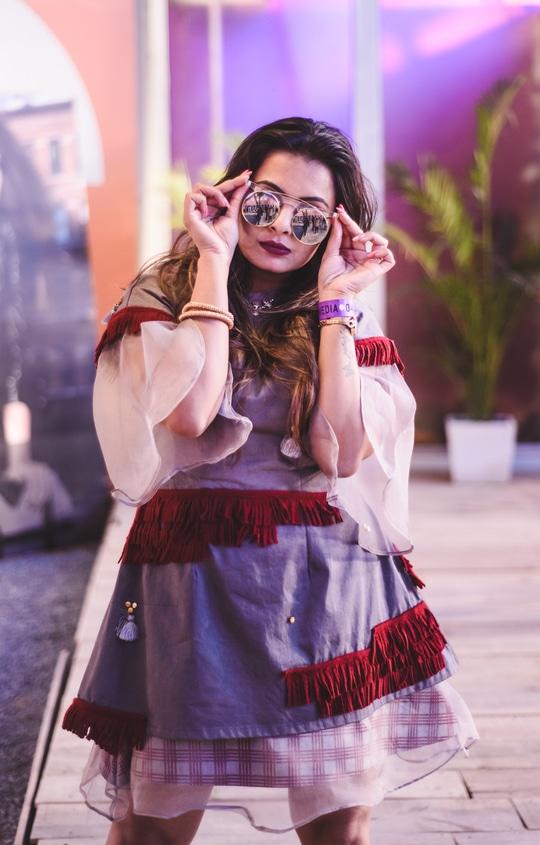 Day 4 @amazonfashion week   Wearing Payal   #aifwss17 #aifwaw17 #bloggerstyle #blogger #bloggerlove #bbloggerindia #delhifashionblogger #roposoblogger #roposodiaries #ropo-good #delhitimes #bloggerindia