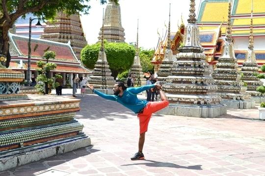 #ojasyogaacademy #yoga #yogalove  #yogaposes #yogabandhuprashanth #watpho  #sleepingbuddha #om