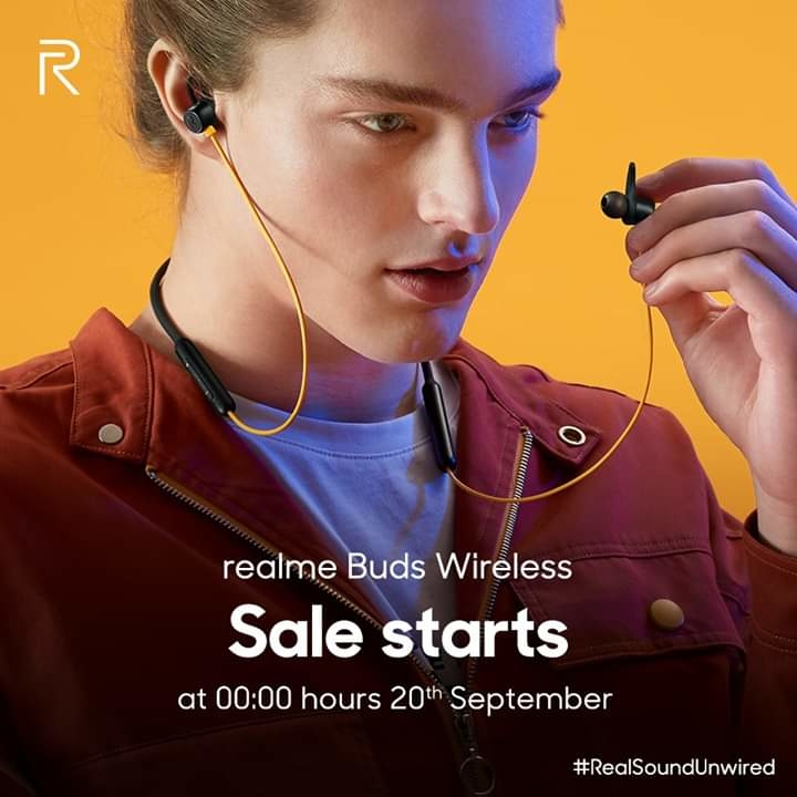 """""""At ₹1,799 the Realme Buds Wireless is the best Bluetooth Earphones for the Millennials."""" - PhoneRadar  The experts have experienced the leap to real sound with #realmeBudsWireless!  Sale starts at 00:00 Hrs. 20th September on Amazon India and realme.com/in.  #RealSoundUnwired Know more: https://amzn.to/2kPUYui"""