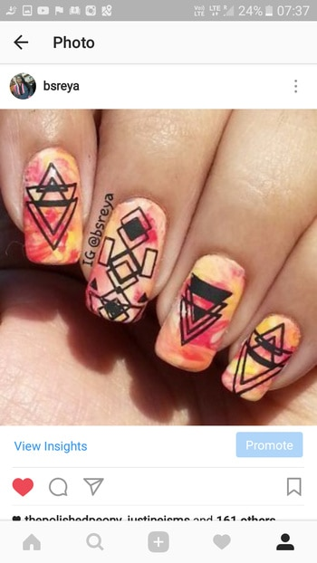 Geometric pattern over my smooshy nails 😀😀       #art#notd#nailartoftheday#thenailartstory#nailartclub#instamani#instanails#nailartoohlala#instapic#nailart#nailsofig#stamping#nailsofinstagram#potd#nailpolish#manicure#nailstagram#nailgasm#nailporn#nailswag#nailitdaily#nailsmakeus#nailartwow#weloveyournailart#nailartpromote#fashion#like4like#red#yellow