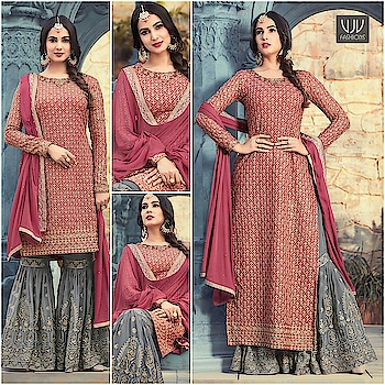 Buy Now @ https://goo.gl/2fCAiW  Sonal Chauhan Pink And Grey Color Georgette Designer Suit  Fabric- Georgette  Product No 👉 VJV-MAIS5501  @ www.vjvfashions.com  #dress #dresses #bollywoodfashion #celebrity #fashions #fashion #indianwedding #wedding #salwarsuit #salwarkameez #indian #ethnics #clothes #clothing #india #bride #beautiful #shopping #onlineshop #trends #cultures #bollywood #anarkali #anarkalisuit #beauty #shopaholic #instagood #pretty #vjvfashions