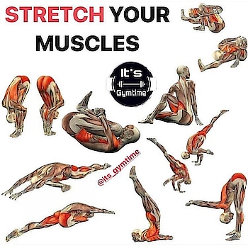 Stretch your muscles