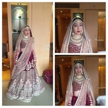 #indian #bride #mumbai #vipulbhagatmakeuandhair #sabyasachimukherjee #sabyasachibride #sabyasachiofficial #sabyasachi #weddingphotography #wedding-lehnga #creative #wedding-bride
