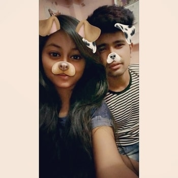 #cutestever #cutenessoverloaded #missinglove #snapchatfilter #both #goals #positivevibes #roposo #morelife #lifegoals #pastaday 😊❤  #jussbeczilovethispicture ##cuteness over load ❤😘🔥