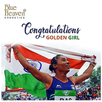 Heartiest Congratulations to Hema Das for being the first Indian woman athlete to bring Gold 🏆 in 400 M at IAAF World U-20 Championship! BlueHeaven salutes your dedication 🇮🇳  #ProudMoment #ProudIndia #GoldMedal #India #IAAF2018 #GirlPower #Athlete #BlueHeaven