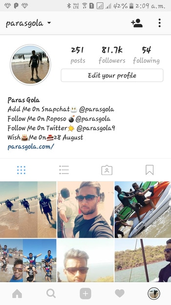 instagram 81k followers 😊😎 follow me instagram @parasgola  #trands #tranding #tranditional #trand #trendy #trending #trendingfashion #trendingnow #trendinglive #trendinglive  #trendingonroposo #trendingred  #rotang #ice #snowfall #snow #snowing  #hillstation #hillyhimachal #himachal #himalayas #himachalpradesh #himalaya #week #weeks #followers #woohoo #700  #pyar #pyaar #pyarhogaya #pyartunekyakiya #sachapyaar #sacha  #3years #3yrold #3yrsold #3yrsback  #green #tshirt #tshirtdress #tshirtlover #tshirtlove #long #longhair #hair #haircare #natural-hair #hairdo #inspired #inspo #inspiration #shocking #shocked #trip #enjoyng  #travelling  #pictureoftheday #desi #shopping #sale #mumbai #fun #roposodaily #photography #selfieoftheday #makeup #thelabelbazaar #roposo #beauty #fashion #ethnic #roposolove #soroposo #ootd #style #newdp #lovin #gentleman #next #gentleman #mans #man #goodlooking #looklikethis#pic-click #portfolio #pisces #selfie #selfieoftheday #selfiemoment #handsome #handsomeever #styles #cool #hot #hotness #hottest #coolstuff #snapchat #chat #chating #snapdeal #snapdeal #harleydavidson #harley #davidson #mussoorie #mussooriediaries #iphoneonly  #android #indianbag #insiandress #indian  #drinks #indianblogger #indianvlogger  #indianbloggersroposo #love #instagood #me #cute #tbt #photooftheday #instamood #iphonesia #tweegram #picoftheday #igers #girl #beautiful #instadaily #summer #instagramhub #iphoneonly #follow #igdaily #bestoftheday #happy #picstitch #tagblender #jj #sky #nofilter #fashion #followme #fun #sun#mall #hotel #lunchtime #newdp #camera #gym #gymlife  #workout #bodybuilding  #body  #mrdelhi #mrindia  #facebook #blogger  #socialmedia  #instagram #facebooklikes #request  #lifestyle #bollywood #bollywood #picsart #create #workout #workfashion #workmode #workshop #workoutclothes #love #instagood #photooftheday #tbt #cute #beautiful #me #followme #happy #follow #fashion #selfie #picoftheday #like4like #girl #tagsforlikes #instadaily #friends #summer #fu