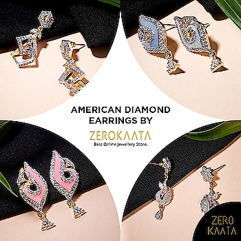 AMERICAN DIAMOND EARRINGS by @zerokaata  # Features intricate work crafted with hands by Indian Artisans # Made with skin-friendly Metal # Lightweight  Use Code ZKWELCOME15 to get 15% off on your order  Visit www.zerokaata.com to shop now  #americandiamond #americandiamonds #americandiamondjewellery #americandiamondearings #americandiamondearring #earcuffs #artficialdiamonds #adjewellery #adjewelry #jewelryaddicted #jewelraddict #earringaddict #earringsshop #fashionearrings #earringdesign #simpleearrings #earringsoftheday