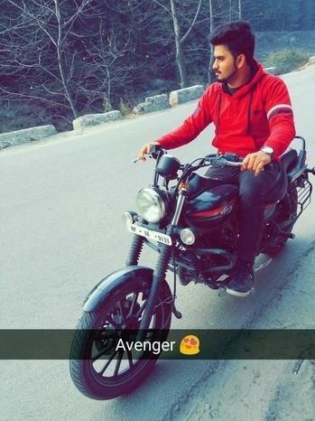 Amazing Experience 👁🗨👌👌 #Ride #Avenger #2016Model #Superbikes #Lightweight. 👍✌👼