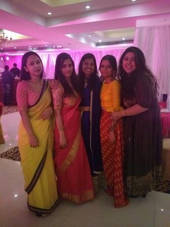 #ShaadiShaadi #WeLoveWeddings #SareeSwag #Indianness #PinkIsIn #TaniyaKiShaadi #ThatsAllICanComeUpWithForNow 😂😄