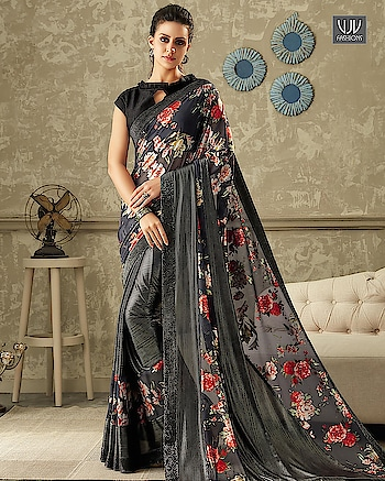Buy Now @ http://bit.ly/VJV-CELE10710  Lovely Grey Color Lycra Printed Designer Saree  Fabric- Fancy Fabric  Product No 👉 VJV-CELE10710  @ www.vjvfashions.com  #saree #sarees #indianwear #indianwedding #fashion #fashions #trends #cultures #india #instagood #weddingwear #designer #ethnics #clothes #glamorous #indian #beautifulsaree #beautiful #lehengasaree #lehenga #indiansaree #vjvfashions #pretty #celebrity #bridal #sari #style #stylish #bollywood #lehengasaree