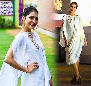 #whitedress ...#peace  #handembroidary #sudhajain #fashionista