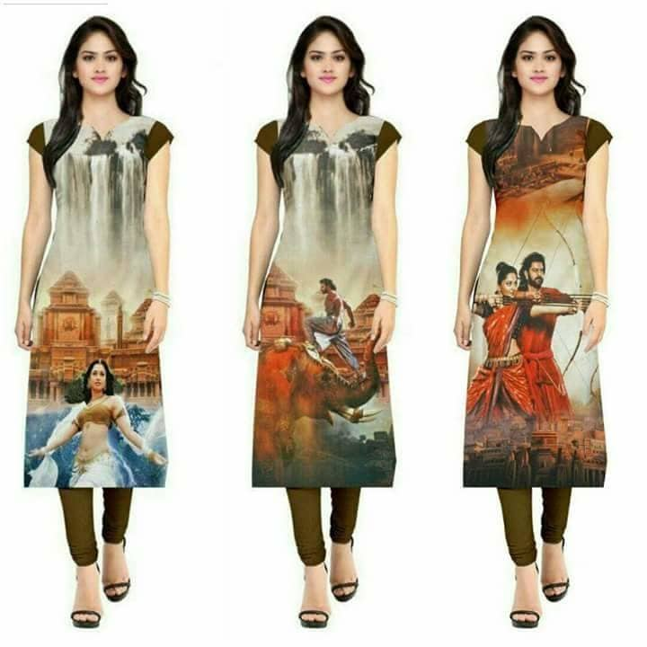 SKU : Bahubali Fabric : Heavy American Crepe  Available Size : XL