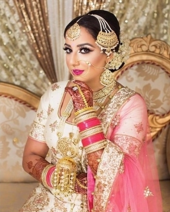 Show the world that 'YOU' are the 'QUEEN'  Shop for bridal cosmetics & amazing jewellery from WedLista.com.  Makeup by: @pinkorchidstudio  #WedLista #FashionForWeddings