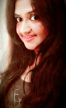 Me and my smile 😊😊😘😘😘  On spl request .....