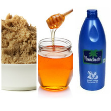 DIY Glowing face pack... Brown suger+ honey+ coconut oil Mix together n apply on ur face, n wash it after 15 min.😍😍