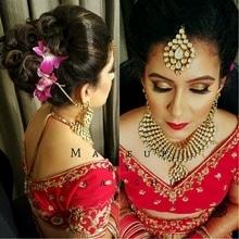 Bridal Make-up and hairstyle on this gorgeous girl who wore traditional red lenhenga.. For bookings contact 9899660145 Hairstylist Silky . . . . . . . . . . #makeupartist #delhimakeupartist #delhiweddings #muadelhi #wedmegood #weddingmakeup #delhibride #bride #makeupforbride #delhimakeupartist #bestmakeupartistindelhi #redlips #hudabeauty #followme #follow #redlehenga #followformore #bridalmakeup #bridetobe #nofilter #makeupaddict #bandbaaja #chanel #becca #anastasiabeverlyhills #maccosmetics #hairstyle #hairstyling #hairbun #hairinspiration #makeupgeek #makeupforeverofficial  #bridal