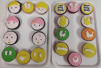 #CupCake #Cake #BabyShower #TheBrownieClub