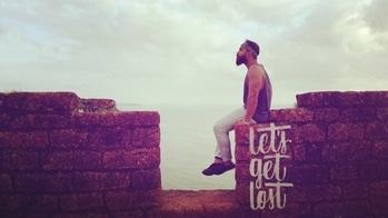 L E T 'S . G E T . L O S T   ##beardmen #roposotalenthunt #beardgame #candid #nature #mensfashion #islandlife #suntanned #follow4follow #like4like #playithard #art #potrait #menspotrait #gameon #skymeetssea #adventure #followmetofit #bewild #aguadafort  #wanderlust #wanderlust