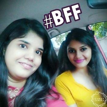 Friends don't let you wear bad clothes.  #selfie #bff #motn #ootd #zara #inglot #hairaccessories #sakshi #roposotalks #soroposo