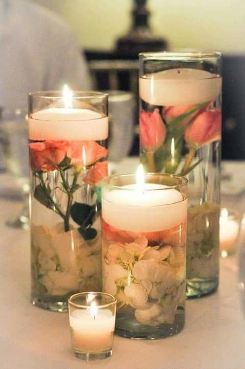 beautiful Candles for a sober look in drawing room.. #creativespace #home-decor #decoration #awesome  #homedecor