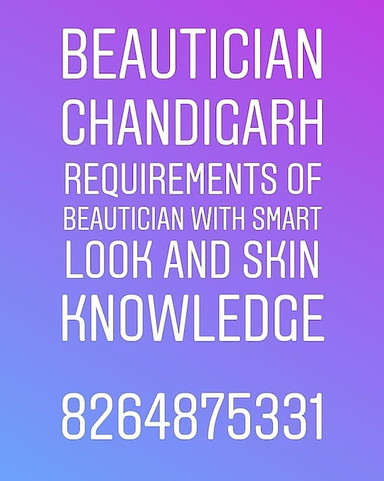 #beautician #skin #skincare #girls #frontoffice #salon Required in #chandigarh  #Hospo24 WhatsApp 8264875331 Recruiter :- www.kainthconsultancy.com 👉Apply here :- https://bit.ly/2IiYZkz  PROJECT :- www.hospo24.com