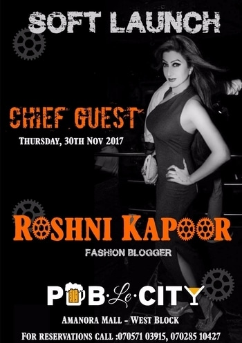 Another prerogative👑 presented to me by the modish @pub.le.city the most hOttest🔥industrial karaoke pub in town💃! A real heartwarming gesture. I shall be attending this resplendent event as the CHIEF GUEST👑😍 MUST VISIT PLACE...To enjoy the best karaoke nights in Pune... visit #publecity... opening soon to fuel you up 🍺  #publecity #cocktails #karaoke #openingsoon #comingsoon #raiseyourspirits #pubinpune #music #food #ambience #newpubinpune #newpartyplace #newhangout #newrestaurant  #amanora #beer #tastyfood #newdancefloor #awsomeplaceinpune #coolplacetohangout #newbuzz #pub #mustvisitplaceinpune #drinks #afterofficehours #refresh #RoshniKapoor #Pune #fashionblogger