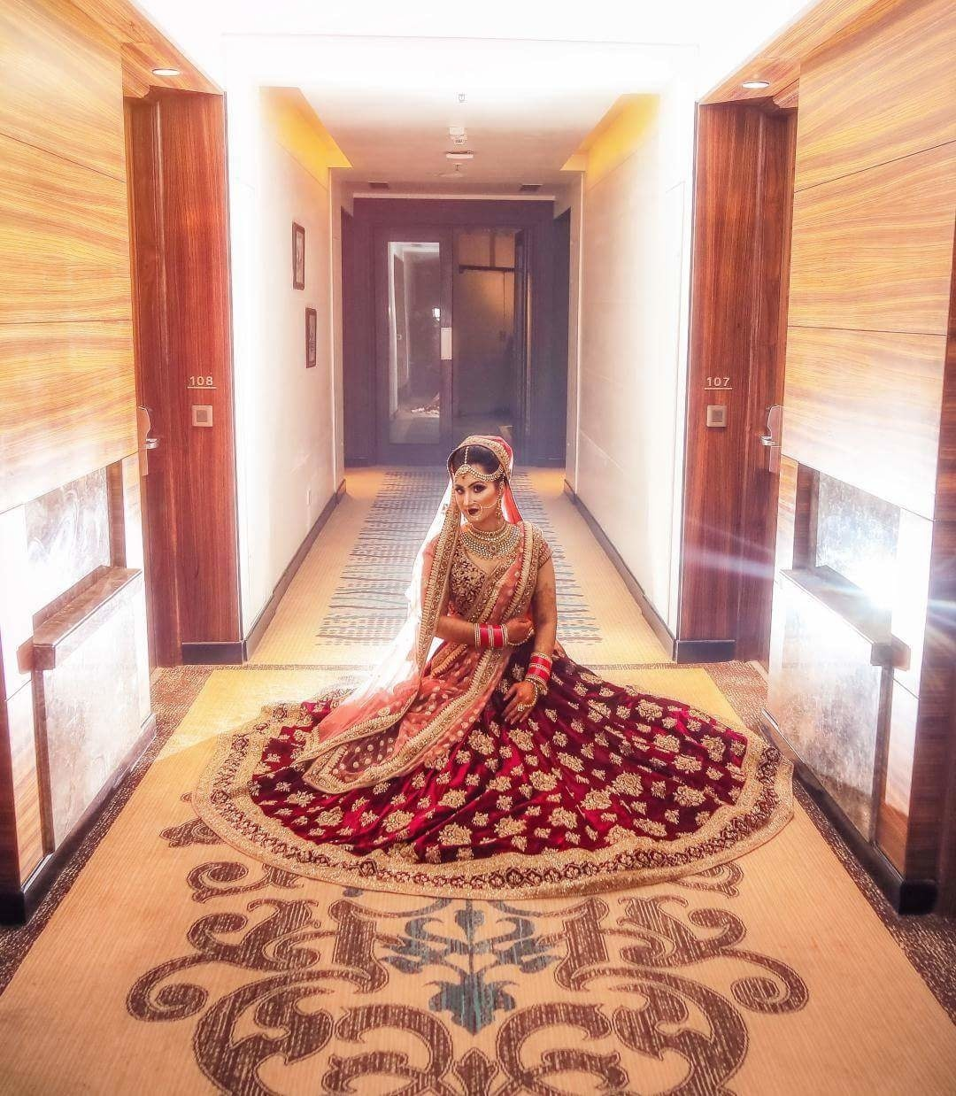 A must-have shot of your designer lehenga!  Shop your style at WedLista.com- India's Premier 'Fashion for Weddings' Online Destination!  #WedLista #FashionForWeddings