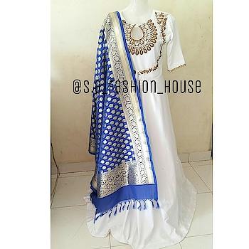 whatsapp at +919322149970 to order    #gown #banarseedupatta #handwork #indianwedding #mumbajboutique #onlineshopping #online-shopping #onlinestore #fashionpostoftheday #handwork #indiancrafts #indianshoppers