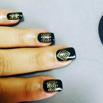 #nails #nail-addict #nailartwow #nailartdesigns #bornprettynailart #sallyhansennails #gogreen #nailswag #nailpolish
