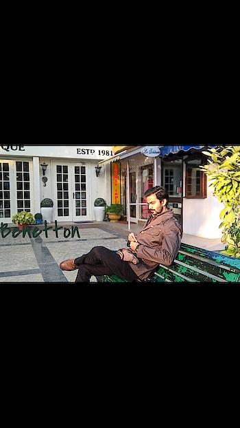 60a987a9a The #benetton jacket promotion campaign. #khan #shoaib #like #instagram #