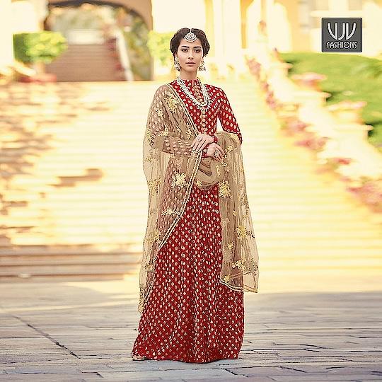 Buy Now @ http://bit.ly/VJV-MAIS6801  Modest Red Color Jacquard And Viscose Anarkali Suit  Fabric- Jacquard, Viscose  Product No 👉 VJV-MAIS6801  @ www.vjvfashions.com  #salwarsuit #salwarkameez #punjabisuit #indianwedding #model #bridal #bridalsuit #weddingstyle #occasionwear #sabyasachi #weddingwear #bridesmaids #salwarsuits #anarkalisuit #plazzo #plazzosuit #punjabi #kurat #ethnic #traditional  #designer #desifashion #online #shopping #designer #punjabisuit #vjvfashion #kurti