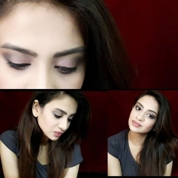 Pink Smokey Rose Makeup |Maybelline Blush Nudes Palette [Requested Video]