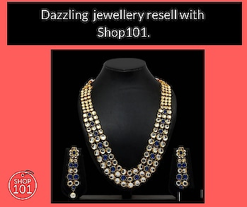 Download: http://bit.ly/2D12b3g  #jewellery #bridal-jewellery #necklace #necklaceset #earrings #womenjewellery #women-fashion #women-style #fashionjewellery #womenwear #sellonline #onlinebusiness #businessman #businesswoman #fashion #thebazaar #reselling #workfromhome