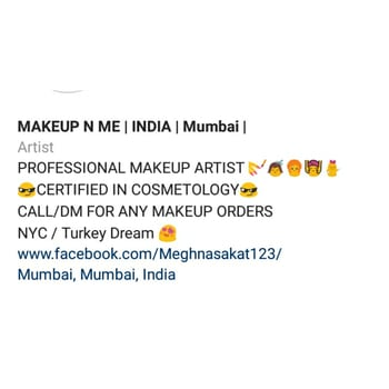 I'm on Instagram as @imeghnasakatmakeupartist. Install the app to follow my photos and videos. https://instagram.com/download/?r=1727984380 #makeupartist