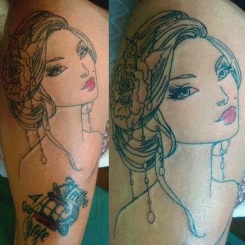 #tattoo #angeltattoo