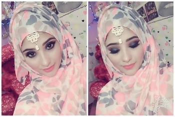 eid makeup +hijab tutorail.. is on my YouTube channel... do check out now....  #youtubechannel #makeuptutorial #eidspecial #eid #eidmakeup #subscribe